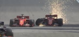 Феттель невдало атакував Леклера на Гран-прі Бразилії