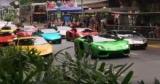 Парад Lamborghini зібрав рекордну кількість суперкарів