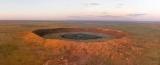 Загадковий кратер виявився молодший, ніж передбачалося