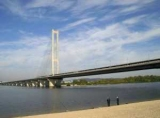 До уваги водіїв: На вихідних буде обмежено рух на Південному мосту в Києві