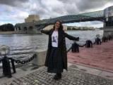 Наталія Орейро відвідала Москву