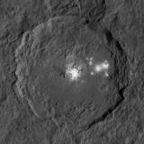Міжпланетна станція розглянула загадкові плями на Церері