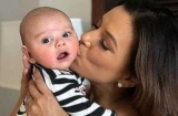 Єва Лонгорія показала підрослого сина: він росте так швидко